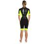 Dare2Tri Swim&Run Go Wetsuit Damen schwarz/gelb