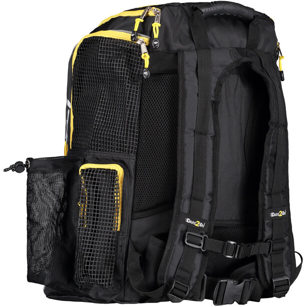 Dare2Tri Transition Backpack 33L black/yellow