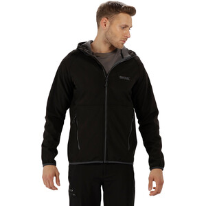 Regatta Arec II Softshell Jacket Men, black/seal grey black/seal grey