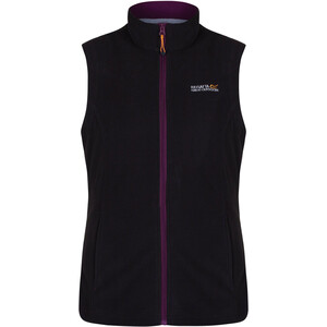 Regatta Sweetness II Bodywarmer Weste Damen black/blackcurrant black/blackcurrant
