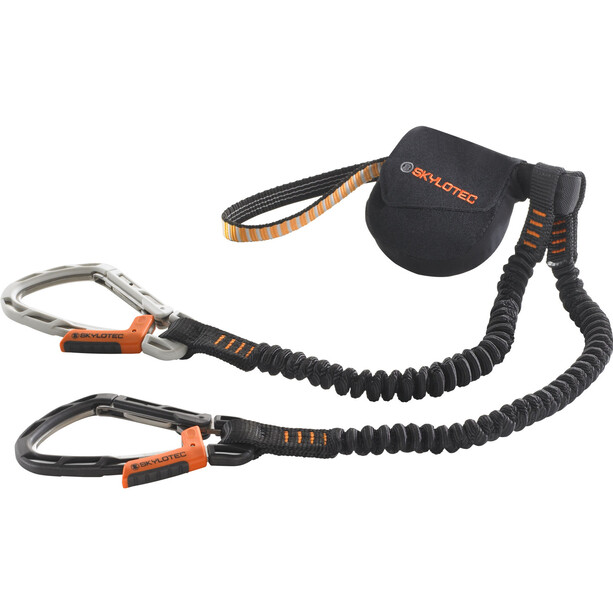 Skylotec Skysafe III Klettersteigset orange/black/grey