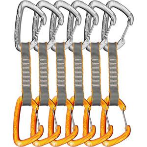 Skylotec Flint Express Wire Quickdraw Set 11cm 6 Pieces light grey/orange light grey/orange