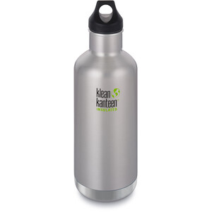 Klean Kanteen Classic Vacuum Insulated Flasche Loop Cap 946ml brushed stainless brushed stainless