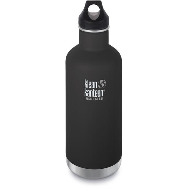 Klean Kanteen Classic Vacuum Insulated Flasche Loop Cap 946ml shale black matt