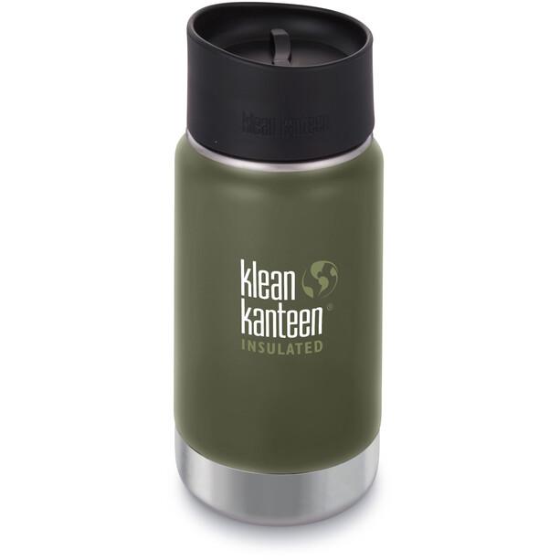 Klean Kanteen Wide Vacuum Insulated Flasche Café Cap 2.0 355ml grün