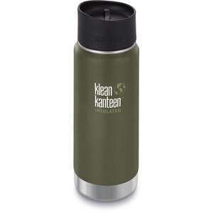 Klean Kanteen Wide Vacuum Insulated Flasche Café Cap 2.0 473ml fresh pine matt fresh pine matt