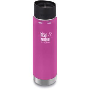 Klean Kanteen Wide Vacuum Insulated Bidon Café Cap 2.0 592ml, roze roze