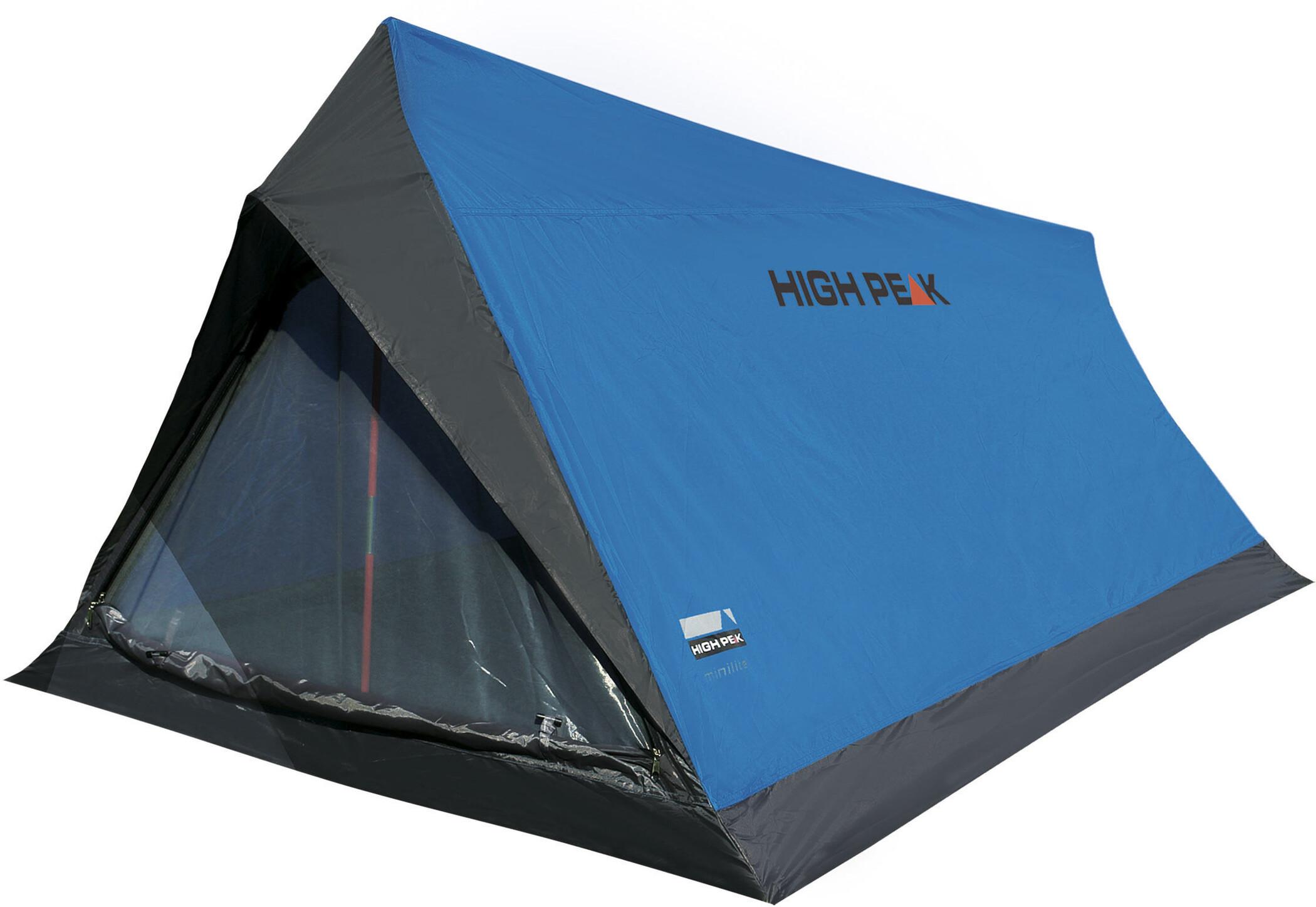 High Peak Minipack 2 (vattenpelare 1000 mm) Tält 1 2