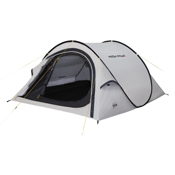 High Peak Boston 3 Zelt aluminium/dark grey