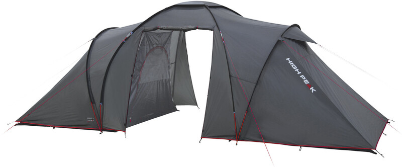 High Peak Como 4 Tent dark grey/red Iglu- & Kuppelzelte 10232