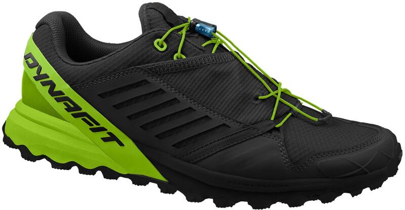 Alpine Pro Shoes Men black/dna green UK 8,5 | 42,5 2018 Trail Running Schuhe
