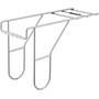 Basil Carrier Extender-Length Gepäckträgerverlängerung silber