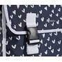 Basil Mara XL Luggage Pannier Double Bag L, 35l heart dots