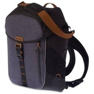 Basil Miles Daypack 17l schwarz/blau schwarz/blau