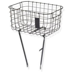 Basil Robin Luggage Pannier Basket black black
