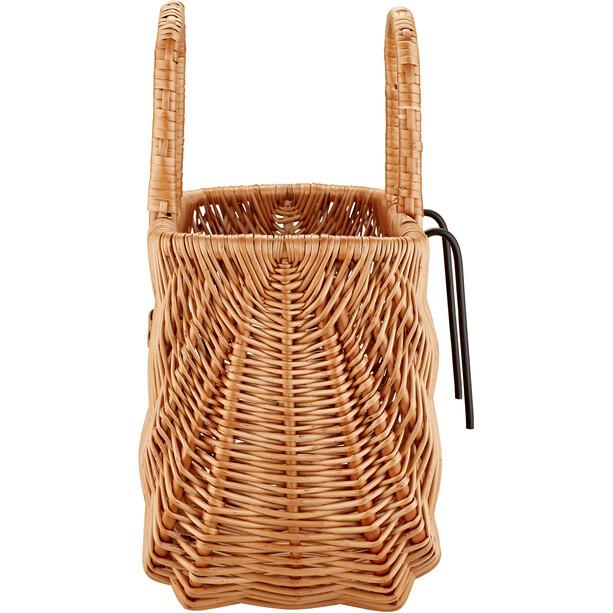 Basil Swing Fahrradkorb für Lenker/Gepäckträger braun