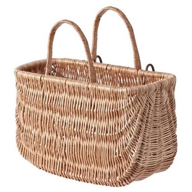 Basil Swing Front/Rear Wheel Basket, natur