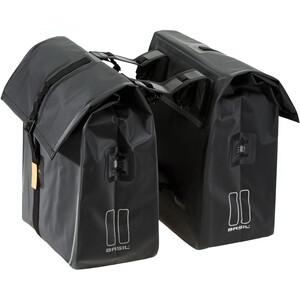 Basil Urban Dry Doppel-Gepäckträgertasche 50l matt black matt black