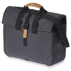 Basil Urban Dry Business Gepäckträgertasche 20l charcoal melee charcoal melee