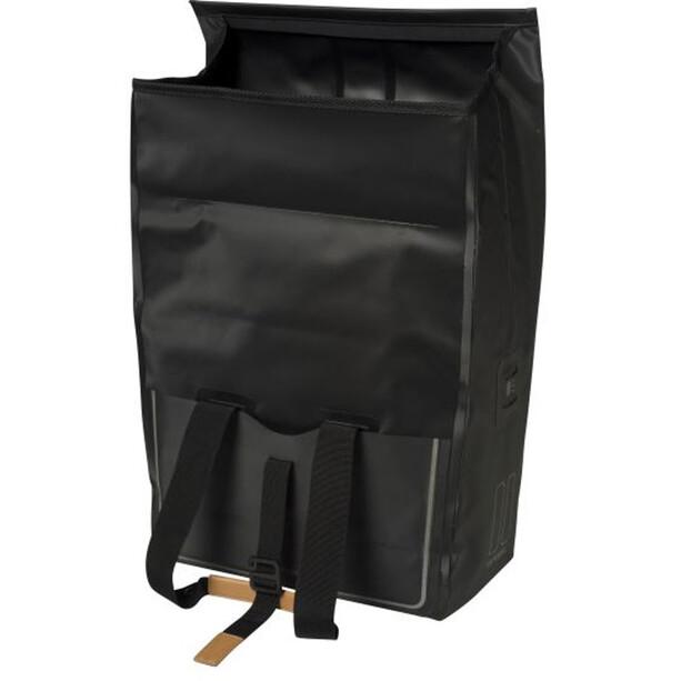 Basil Urban Dry Bicycle Shopper 25l, matt black