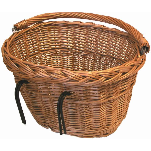 Basil Denver Fahrradkorb für Lenker/Gepäckträger natur