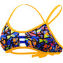 TYR Costa Mesa Pacific Tieback Bikini Top Damen orange/purple