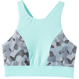 TYR Lavare Amira Bikini Top Damen grey/mint grey/mint