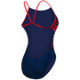 TYR Liberty Cutoutfit Bathing Suit Damen red/white/blue