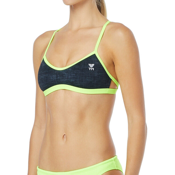 TYR Sandblasted Mojave Tieback Bikini-yläosa Naiset, harmaa