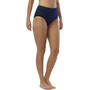 TYR Solids Highwaist Bikinihose Damen navy