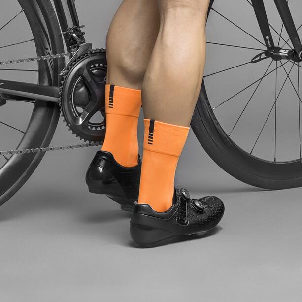 GripGrab Lightweight SL Socks fluo orange