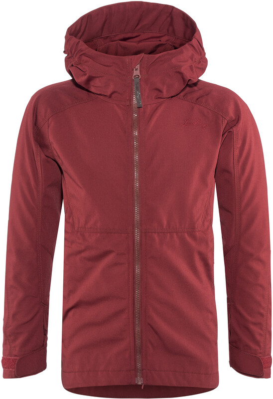 Lundhags Habe Jacket Junior Dark Red 134/140 2018 Windbreaker, Gr. 134/140