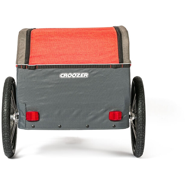 Croozer Cargo Pakko Lastenanhänger rot/grau