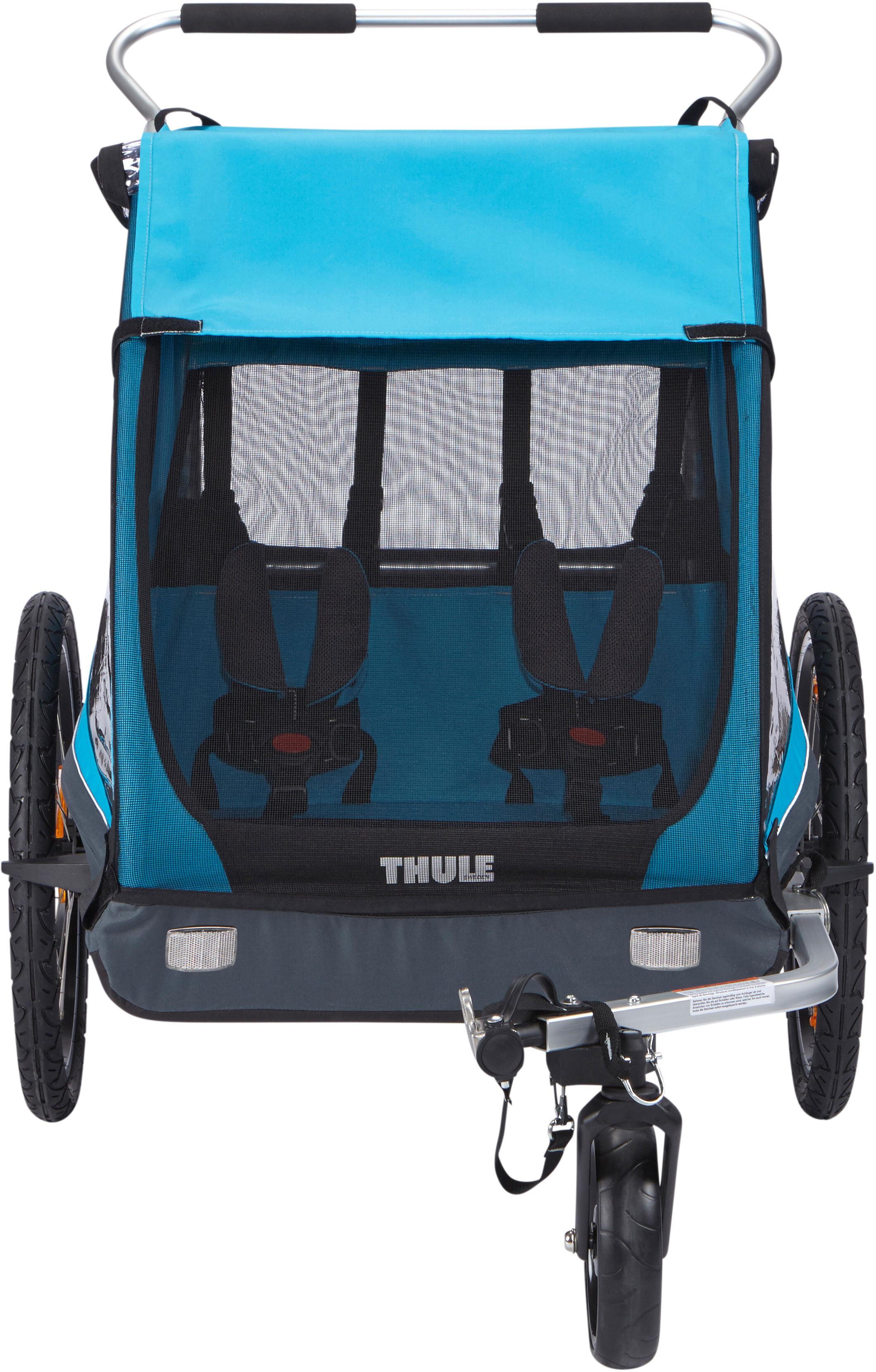 Thule Coaster XT Bike Trailer blue at Bikester.co.uk
