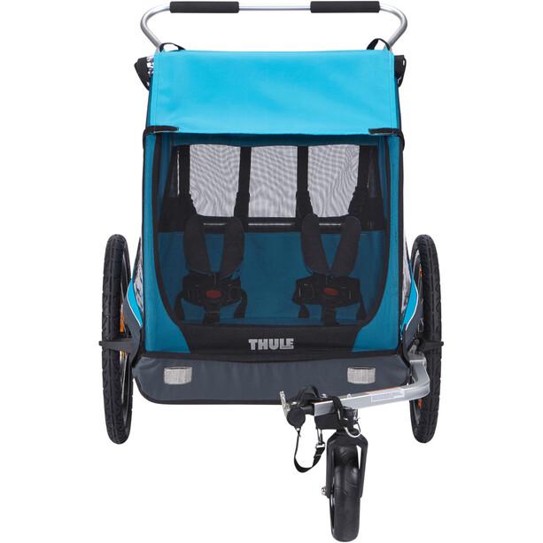 Thule Coaster XT Fahrradanhänger blau/schwarz