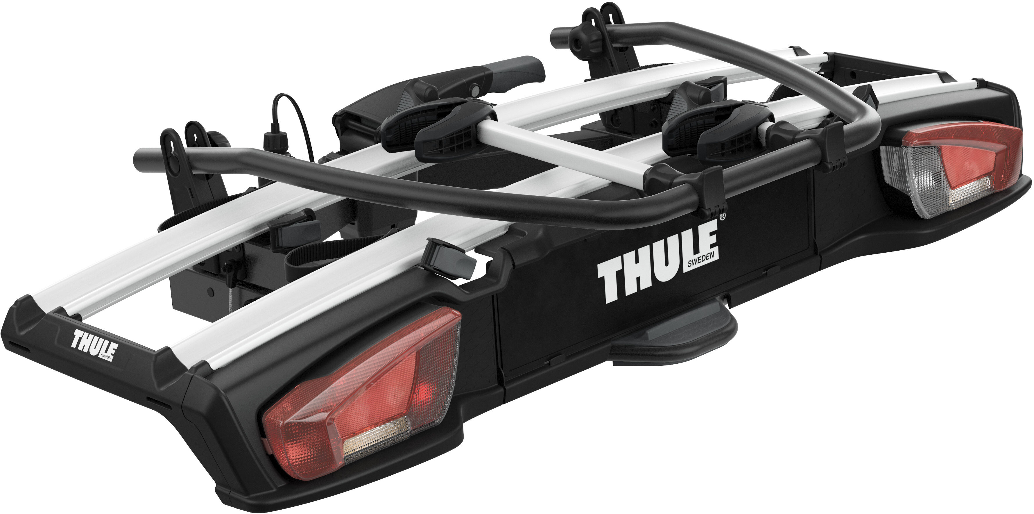 thule velospace xt fahrradtr ger f r 2 fahrr der online. Black Bedroom Furniture Sets. Home Design Ideas