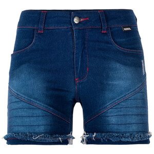 Nihil Bien Zen Shortsit Naiset, blue denim blue denim