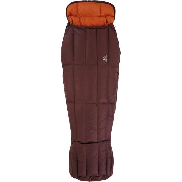 Mountain Equipment Dreamcatcher Schlafsack Damen dark chocolate/blaze