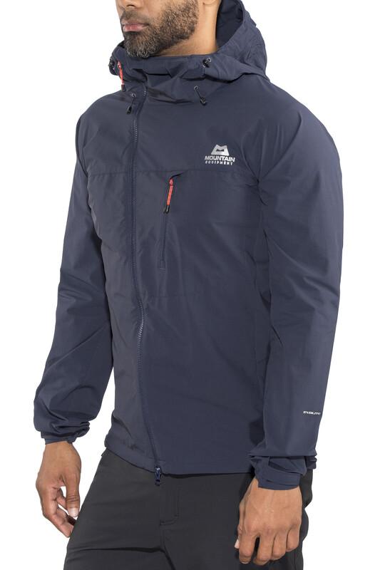 Mountain Equipment Squall Hooded Jacket Men Cosmos L 2018 Kletterjacken, Gr. L