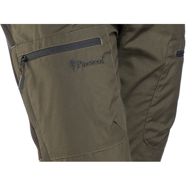 Pinewood Caribou TC Hose Herren moosgreen/black