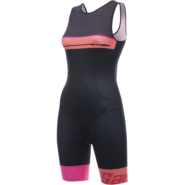 Santini Sleek Plus 776 Sleeveless Trisuit Women fuxia