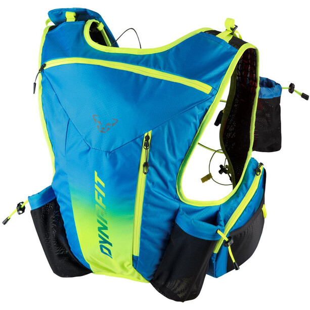 Dynafit Enduro 12 Backpack methyl blue/fluo yellow