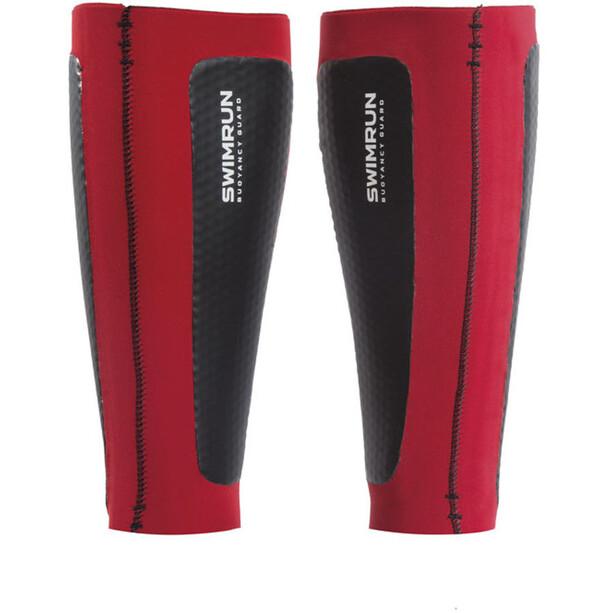 Head SwimRun Air Cell Calf Sleeves black-red