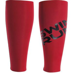 Head SwimRun DF Flex Calf Sleeves svart/röd svart/röd