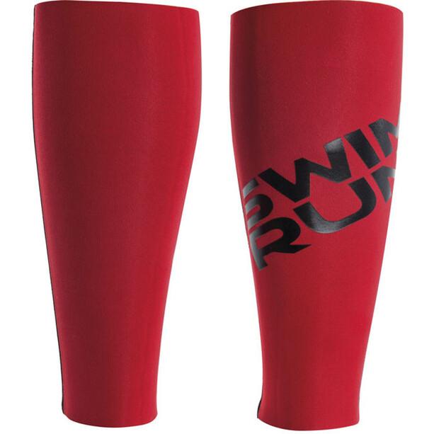 Head SwimRun DF Flex Calf Sleeves black-red