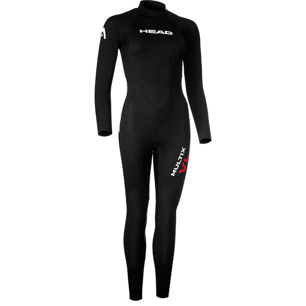 Head Multix Vl Suit Dam black/red