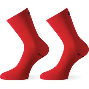 ASSOS GT Socken rot rot