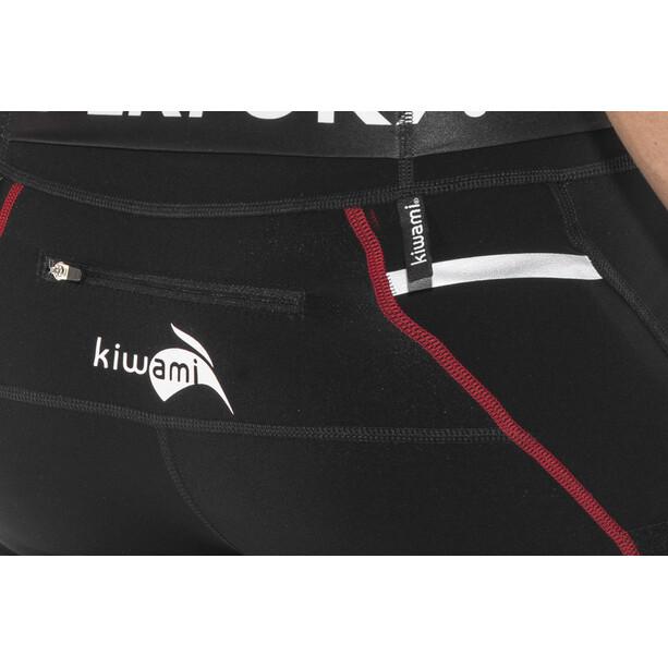 KiWAMi Equilibrium Trail Full Tights black/red