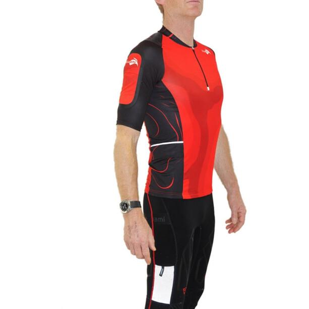 KiWAMi Equilibrium Trail Top red/black