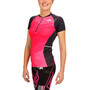KiWAMi Equilibrium Trail Top Damen black/pink